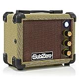 SubZero Micro Ampli pour ukulélé par Gear4music Tweed