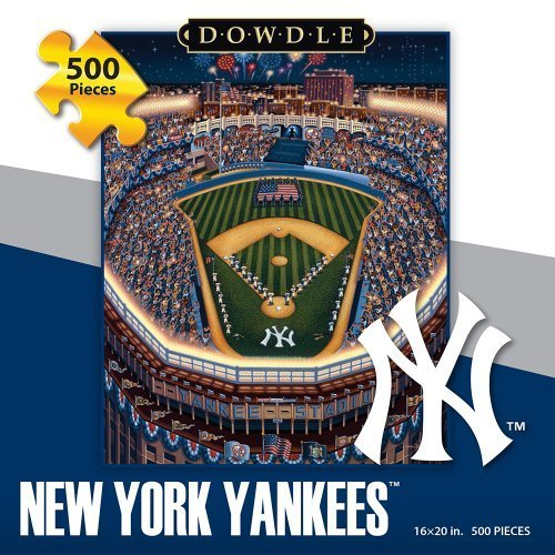 Dowdle New York Yankee 500 Piece Puzzle by Americana Art (New York Yankees Puzzle)