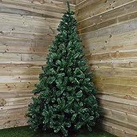Kaemingk Everlands Imperial Pine Green Christmas Tree - 240cm (8ft)