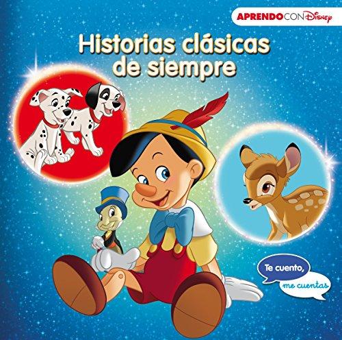 Historias clásicas de siempre (Te cuento, me cuentas una historia Disney): 101 Dálmatas, Pinocho y Bambi por Disney