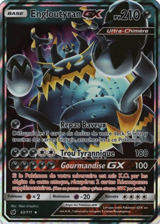 carte pokemon rare gx Générique Pokémon Lot de 3 Cartes GX/EX Ultra Rare françaises sans