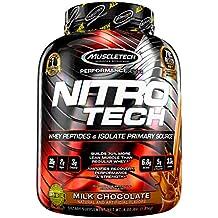 Muscletech Supplemento Nutrizionale Nitro Tech Performance Series 4 lb, Chocolate - 1800 gr