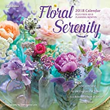 Floral Serenity 2018 Calendar
