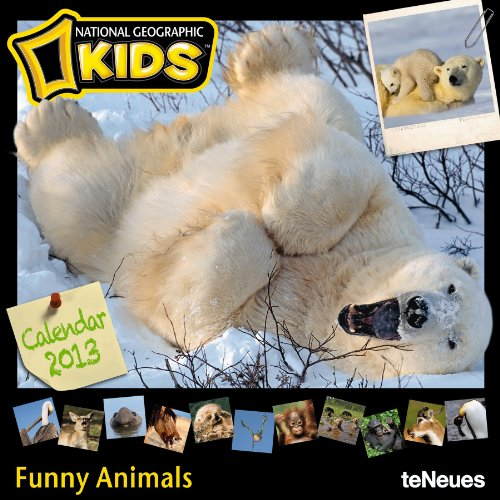 national-geographic-for-kids-funny-animals-2013-broschurenkalender