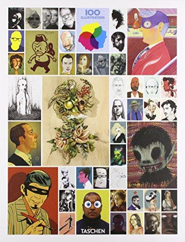 25 100 Illustrators por Julius Wiedemann Steven Heller