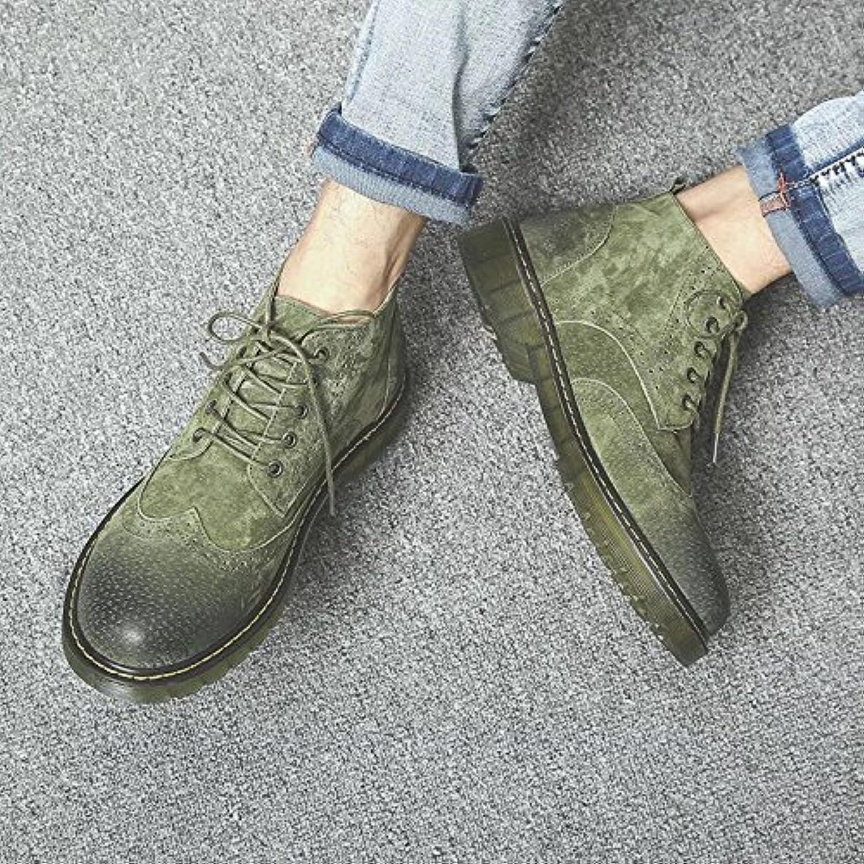 HL-PYL-Martin botas, zapatos, botas, botas y botas para botas cortas,44,verde