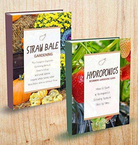 herbs-2-manuscripts-straw-bale-gardening-hydroponics-beginners-gardening-guide
