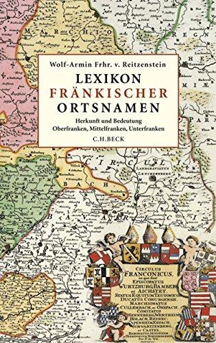 Karte Oberfranken Unterfranken Mittelfranken.Lexikon Frankischer Ortsnamen Herkunft Und Bedeutung