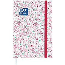OXFORD FLOWERS Agenda Scolaire Journalier 2018-2019 1 JOUR PAGE 352 Pages 12x18 Fleurs Roses