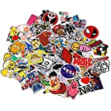 Sticker Pack 100-Pcs,Neuleben Sticker Decals Vinyls for Laptop,Kids,Cars,Motorcycle,Bicycle,Skateboard Luggage,Bumper Stickers Hippie Decals bomb Waterproof … (sticker-6)