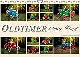Oldtimer Schätze. Ein Traktoren-Kalender (Wandkalender 2018 DIN A4 quer): Nostalgische Traktoren - Oldtimer Schätze, von vielen geliebt und immer ... ... [Kalender] [Apr 01, 2017] Roder, Peter