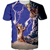 Spreadhoodie Mens T-Shirt Casual Graphic Short Sleeve Round Neck Tops Tees S-XXL