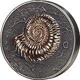 Power Coin Ammonite Evolution of Life 1 Kg Kilo Silber Münze 2000 Togrog Mongolia 2018