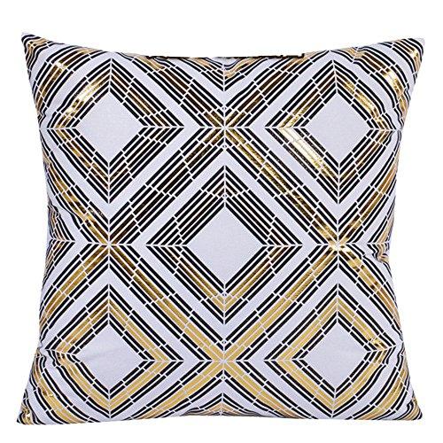 2-er Set Weicher Dekorativ Kissenhuelle Geometrische Art Kissenbezug Kissen Case Kissenbezüge für Sofa Home Decor 18 * 18 Zoll
