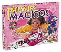 Falomir 646479 - Juego Tatuajes Mágicos Niña de Falomir