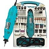 LARS360® Mini-Schleifer Schleifmaschine 226 teilig inklusive Koffer Handschleifer Multischleifer Multitool Rotary Drill Grinder Schleifen Werkzeug (226 teilig)