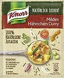 Knorr Natürlich Lecker Mildes Hähnchen Curry Fix 3 Portionen (19 x 47 g)