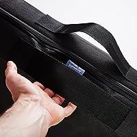 Bolsa de almacenamiento de colchón Lumaland en ocho tamaños con cremallera y asa gris 100 x 200 x 25cm