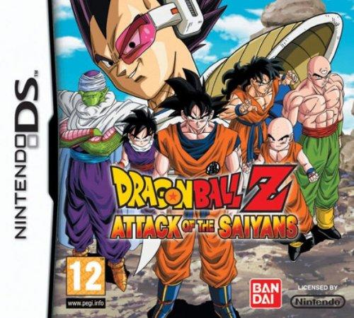 Dragonball Z: Attack of the Saiyans (Spiel in Deutsch, Verpackung und Handbuch auf Spanisch) (Dragon Ball Z-spiele Für Den Ds)