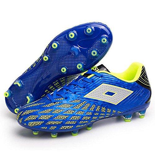 Mr. LQ - Adulti combattimento scarpe e formazione scarpe calcio giovanile Blue