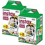 Fujifilm Instax Mini Film (40Aufnahmen) Multi Pack für Mini 8–9& Alle Fuji-Mini-Kameras