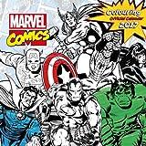 Marvel Comics Classic Official 2017 Colouring Calendar - Square 305x305mm Wall Calendar 2017