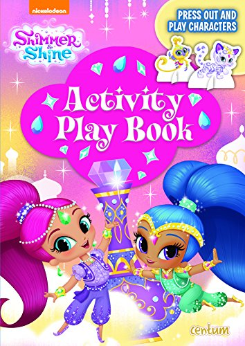 Shimmer & Shine Press-Out & Play Activity Book