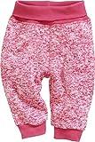 Schnizler Unisex Baby Jogginghose Pump-Hose Strickfleece mit Strickbund Rosa (Pink 18) 62