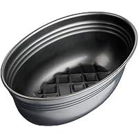 Zenker Brotform oval Black METALLIC, Brotbackform mit keramisch verstärkt Antihaftbeschichtung, Kuchenform aus…