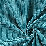Fabulous Fabrics Breitcord 6 — Meterware ab 0,5m — zum Nähen von Kissen und Tagesdecken, Taschen und Hosen