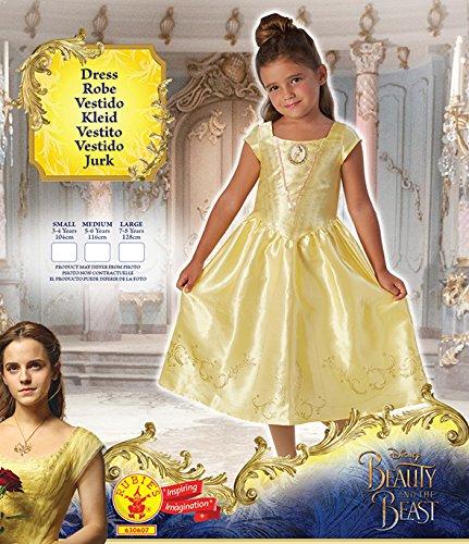 Imagen de la bella y la bestia live action  disfraz bella classic infantil, talla m rubie's spain 630607 m  alternativa