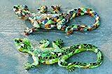 Skulptur Eidechse Salamander Mosaik Wanddeko L 21 cm , sortierte Ausführungen, 1 Stück