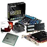 tronics24 PC Aufrüstkit | AMD FX-6300 6x 3.5GHz Hexa-Core | 8GB DDR3-RAM PC-1333 | AMD Radeon R7 240 2GB | Asus M5A78L-M LX3 Mainboard mit AMD 760G Chipset | Gigabit-LAN | Soundkarte