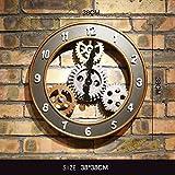 ZWL Gear Clock Creative Industrial Wind