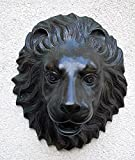 Wasserspeier Löwenkopf, Bronzeguss