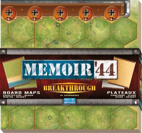 Asmodée - MEM10 - Jeu de stratégie - Memoire'44 - Opération Overlord [Französische Edition]