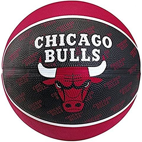 SPALDING Chicago Bulls pallone da basket NBA Team (7)