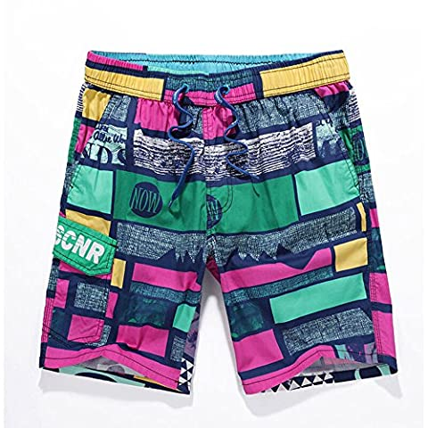 Boys Men's Shorts Surf Pants Swim Trunk Hot Beach Boardshorts Skate Shorts with Pockets Quick Dry Casual 2017