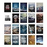 VISUAL STATEMENTS Postkartenset – 20 Postkarten - Motivation, Postkarten mit Sprüchen – Spruchkarten -– Postkarten XXL – Kartenset – Postkarten zum Verschenken – schöne Geschenkidee