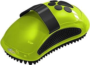 FURminator Striegel für Hunde, Fellpflege Hundebürste zum Ausbürsten von Staubundlosem Haar für gesundes glänzendes Fell, mit Gummi Noppen und ergonisch geformtem Griff