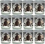 Biedermann & Sons Etched Black Pineapple...