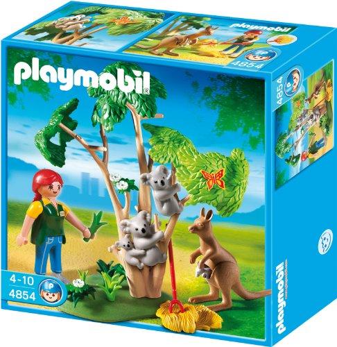 la-Baum mit Känguru ()