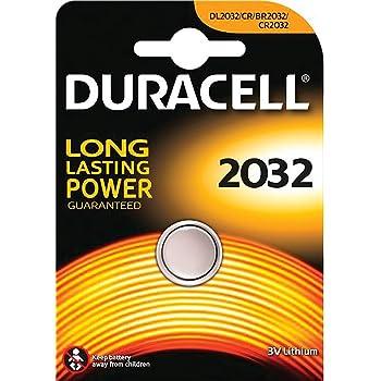 Duracell - Pila de botón de litio CR2032 D