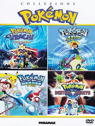 Collezione Pokemon - Heroes / Jirachi Wish Maker / 4Ever /Fratelli Dello Spazio (4 DVD)