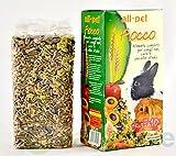 All Pet Schleife Futtermittel für Zwerge Kaninchen, Meerschweinchen und Meerschweinchen 800g