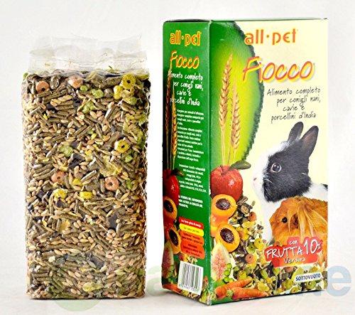 All Pet nœud aliment pour lapins nains, Cobayes et cochons d'Inde 800 g