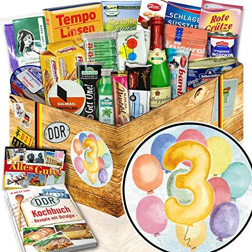 Geschenk zum 3. Jahrestag + besonderes Geschenk 3. Hochzeitstag + DDR Produkte Iii-geschenke