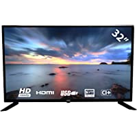 HKC 32F1D LED TV (32 Pouces HD TV), CI+,2 HDMI+USB, Triple Tuner, 60Hz, Mediaplayer