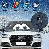 Audi Winterabdeckung Eisschutz, Scheibenabdeckung Frostschutz, Frontscheibe Frost Abdeckung Winterabdeckung Eisschutzfolie