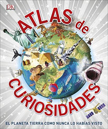Atlas de curiosidades: El planeta tierra como nunca lo habías visto (CONOCIMIENTO) por Varios autores